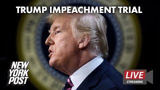 Second day of Trump impeachment trial in U.S. Senate