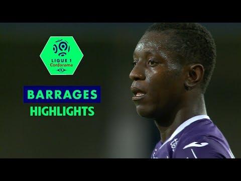 AC Ajaccio - Toulouse FC ( 0-3 ) - Highlights - (ACA - TFC) / 2017-18