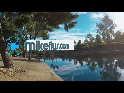 Mike Fly's Float Kit for the Mavic 2 Pro / ZOOM flight at Laguna Lake