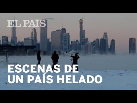 VÓRTICE POLAR en EE UU: Escenas de un país helado