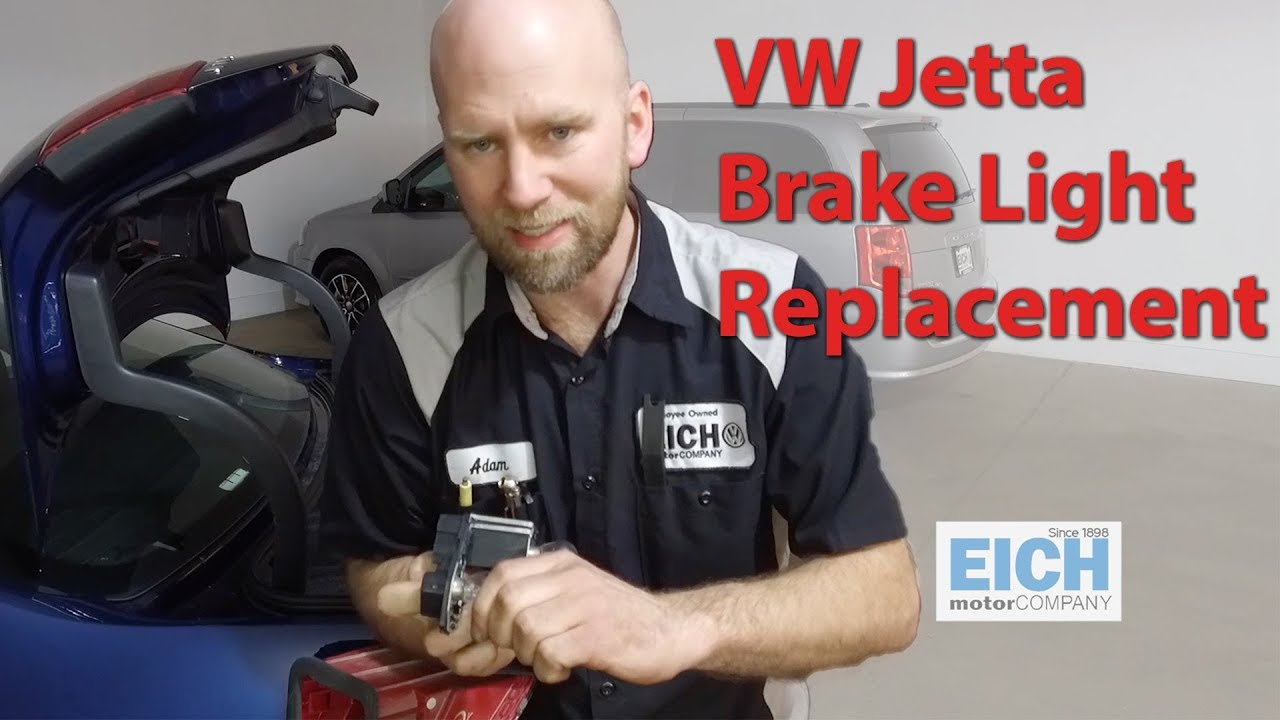 How To Change Brake Light Bulbs On A Volkswagen Jetta