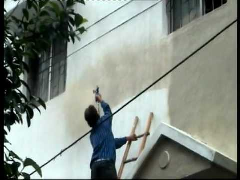 Building spray painting machine smart youtube - Spray painting house exterior pict ...