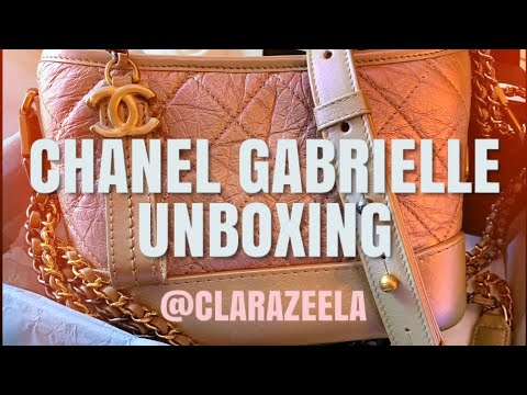 f3f590071b98 Chanel Gabrielle Bag Unboxing!! Spring Summer 2019 Pink Iridescent !! Pls  like & subscribe!!