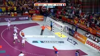 Гандбол. Ч.М. Полуфинал. Франция - Испания. 30.01.2015