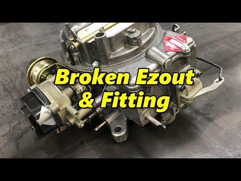 Carburetor With Broken Ezout