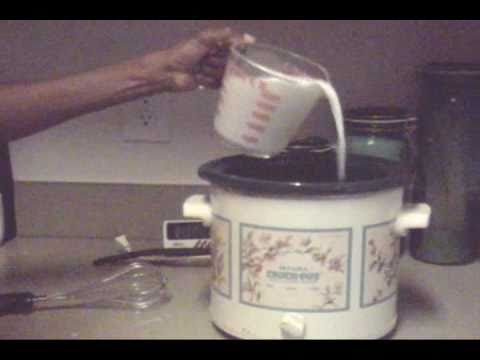 Making Yogurt In A Slow Cooker W 3 Easy Steps Youtube