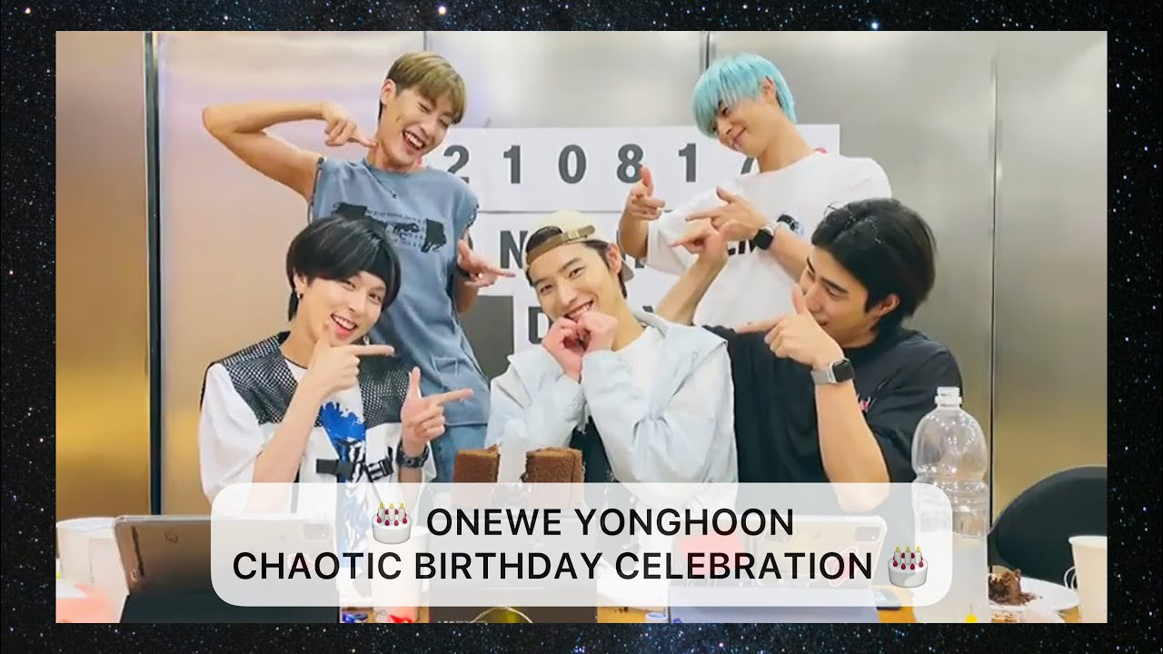 Download [ENG] ONEWE (원위) Yonghoon (용훈) Chaotic Birthday Celebration