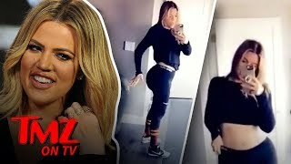 Khloe Kardashian Getting Bashed For Working Out Too Much?! | TMZ TV