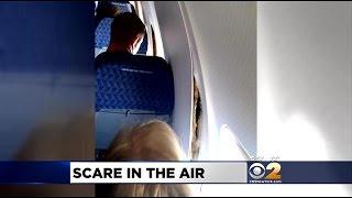 Plane Comes Apart Mid-Flight
