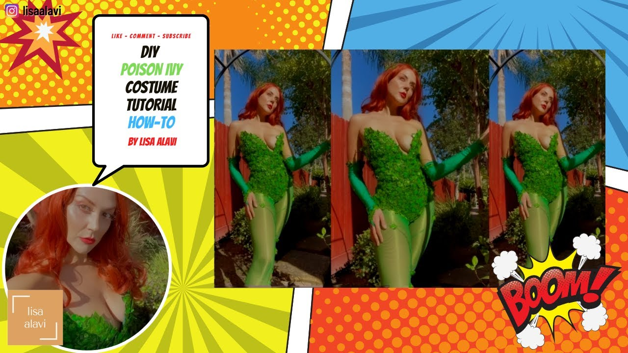 Download HOW-TO   DIY Poison Ivy Cosplay Costume Tutorial   Lisa Alavi