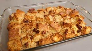 Cardamom Pecan Bread Pudding