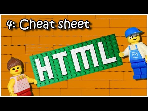 Learn HTML And CSS - 4: Cheat Sheet