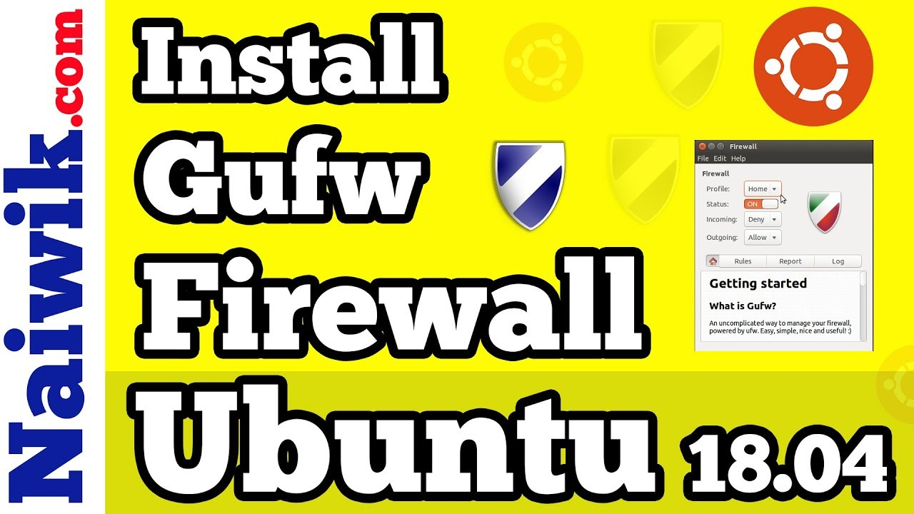 how to disable firewall in ubuntu 18.04