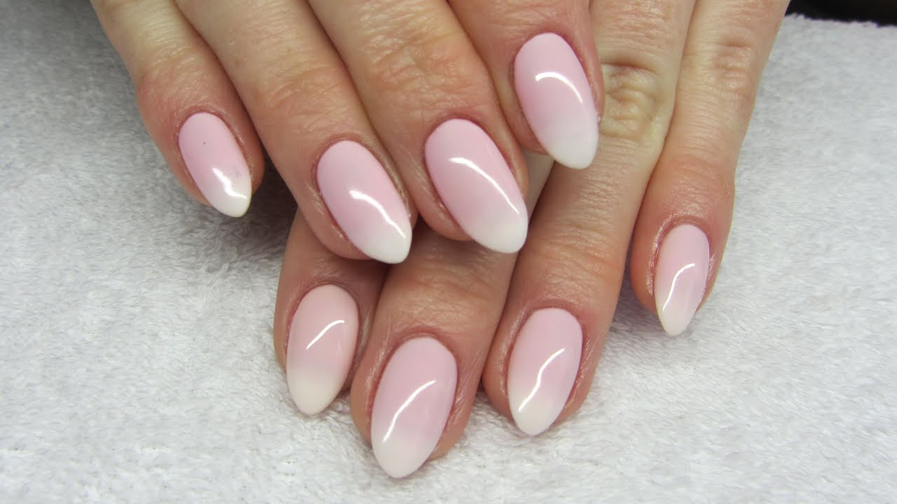 How To Make Babyboomer Soak Off Nails Jak Zrobić Ombre French Na