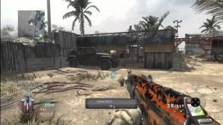 CoD Black Ops Team Death Match 29-4 AK74u Grip Extended Mags Firing Range