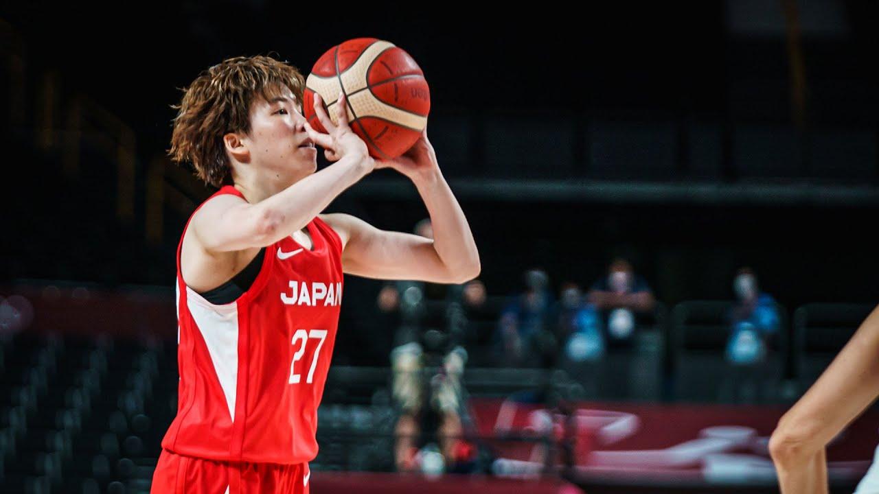8 x 3's 👀👀!  Saki Hayashi caught fire against Belgium 🔥  #Tokyo2020 ⚡ mixtape