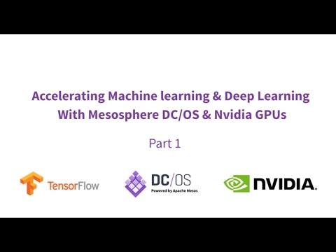 Part 1: Deep Learning w/ TensorFlow, Nvidia & DC/OS (Apache Mesos)