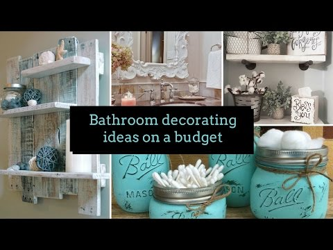 🛀 DIY Bathroom decorating ideas on a budget 🛀| Home decor & Interior design | Flamingo Mango