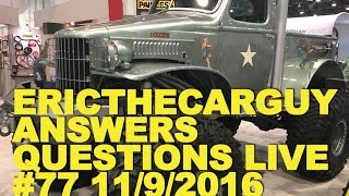 Etcg Answers Questions Live #77 (Ama) 11/9/2016
