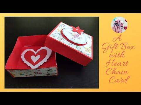 DIY paper gift Box || Gift Wrap Ideas || Birthday/Anniversary gift pack idea