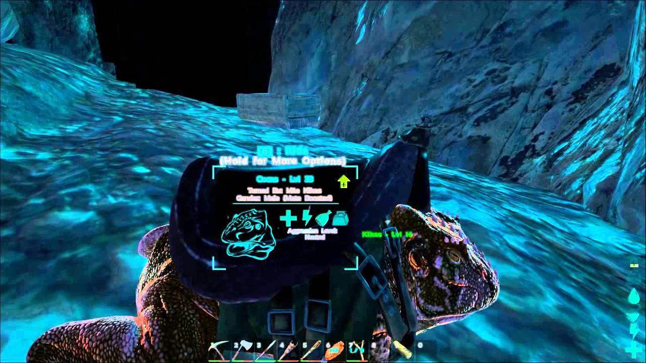 Ark Underwater Cave Base