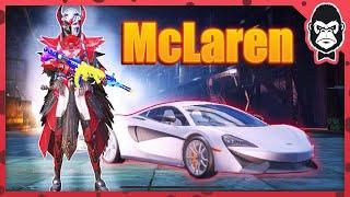 McLaren + Blood Raven 😍   PUBG MOBILE