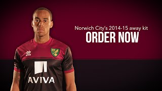 Norwich City 2014-15 Away Kit: Pre-Order Now!