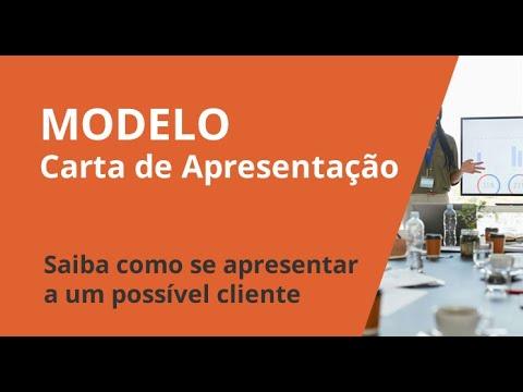 Modelo Para Carta De Apresentação Da Empresa