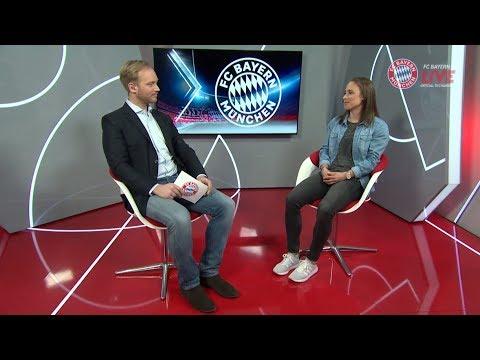 FC Bayern.tv live: Gina Lewandowski im 1:1 Talk