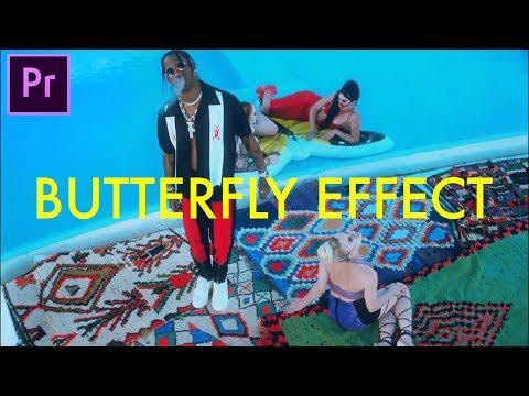 Travis Scott - Butterfly Effect (Music Video Editing Breakdown) (Dir. by @BRTHR__ ) (Premiere Pro)