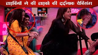 Bigg Boss 13 Hindustani Bhau & Siddharth Shukla Screams On Waxing Task | Salman Khan Punishment Task