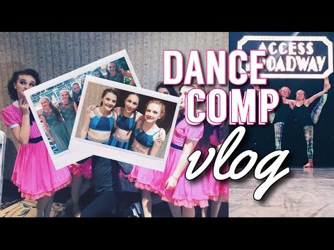Dance Competition Vlog (ACCESS BROADWAY)| Stila By Stella