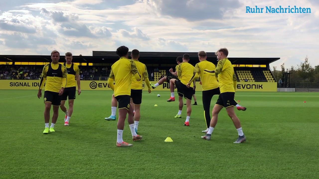 Witsel und Hazard sind zurück im BVB-Training