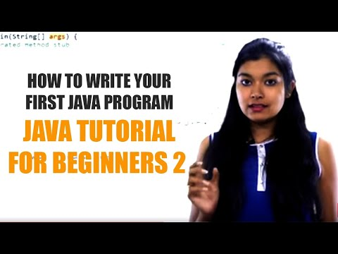 How to Write Your First Java Program   Java Tutorial for Beginners 2   TalentSprint