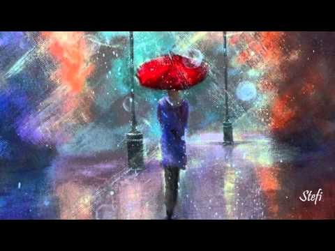 Umbrellas In The Rain ~ Helicopter Girl