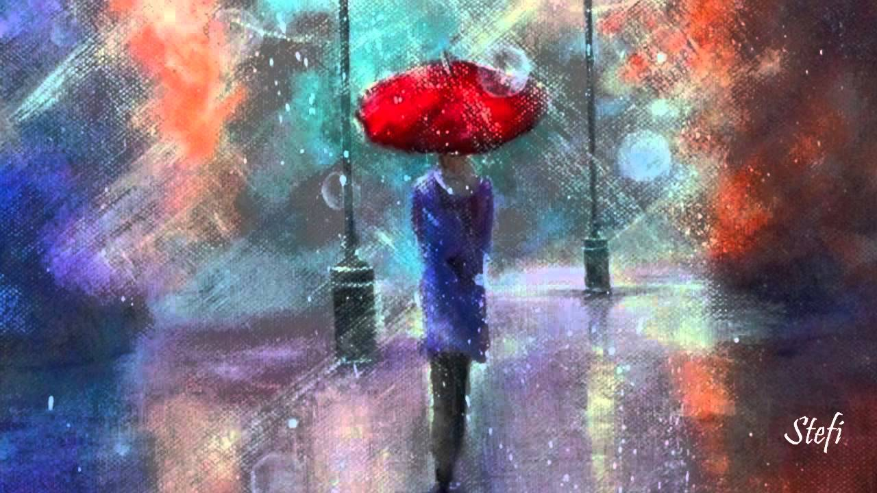 Umbrellas In The Rain ~ Helicopter Girl - YouTube