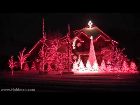 Holdman Christmas Lights 2010 Complete Show - Holdman Christmas Lights 2010 Complete Show - YouTube