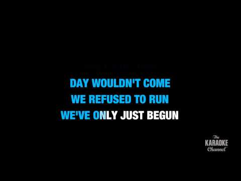"Chasing The Sun in the Style of ""The Wanted"" karaoke video with lyrics (no lead vocal)"
