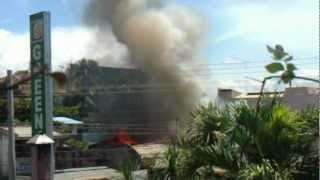 Sunog sa Valencia City, Bukidnon