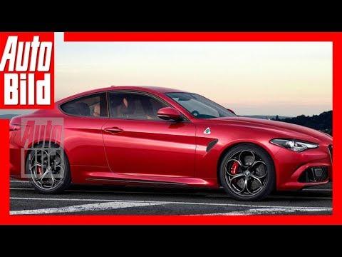 Zukunftsaussicht: Alfa Romeo Giulia Coupé (2019)