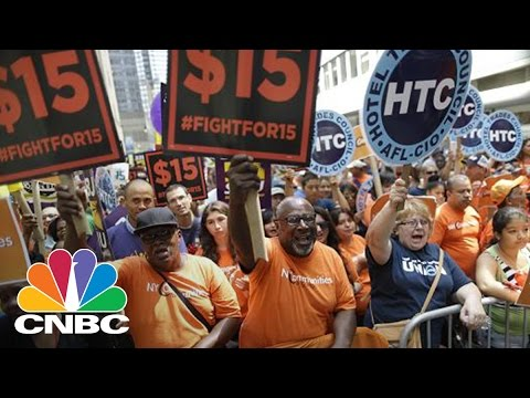 19 States Will Get Minimum Wage Increases In 2017 | CNBC