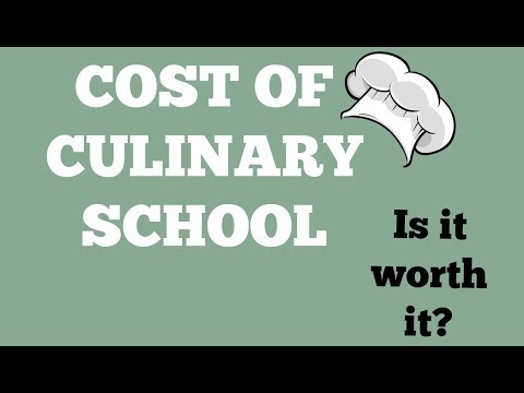 The Cost of Culinary School | Cost of CIA- is it worth it?