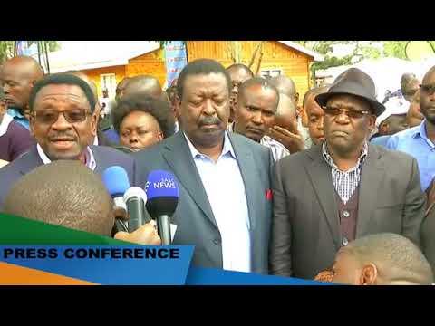 LIVE!!! PRESS CONFERENCE ON VOTE TALLYING AT BOMAS OF KENYA