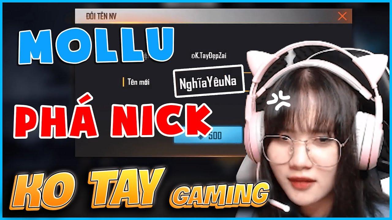 [Free Fire] Mollu Troll Đổi Tên và Phá Nick Không Tay Gaming - Phát Hiện Sự Thật Động Trời