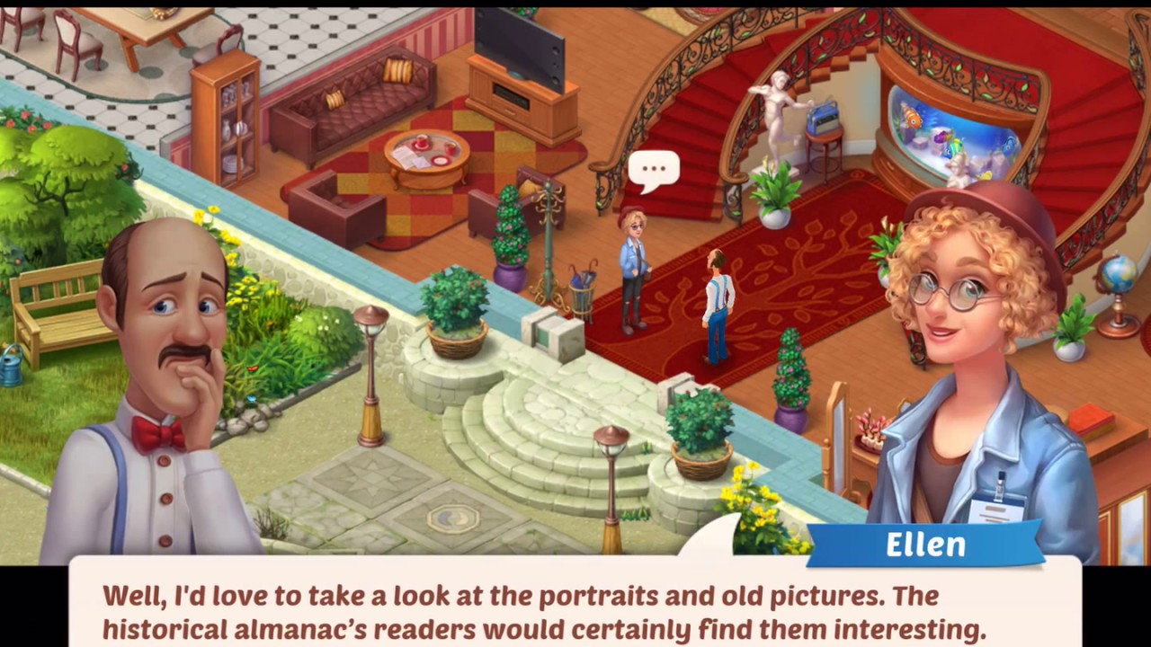 Knitting Story Homescapes : Homescapes gameplay story walkthrough part video