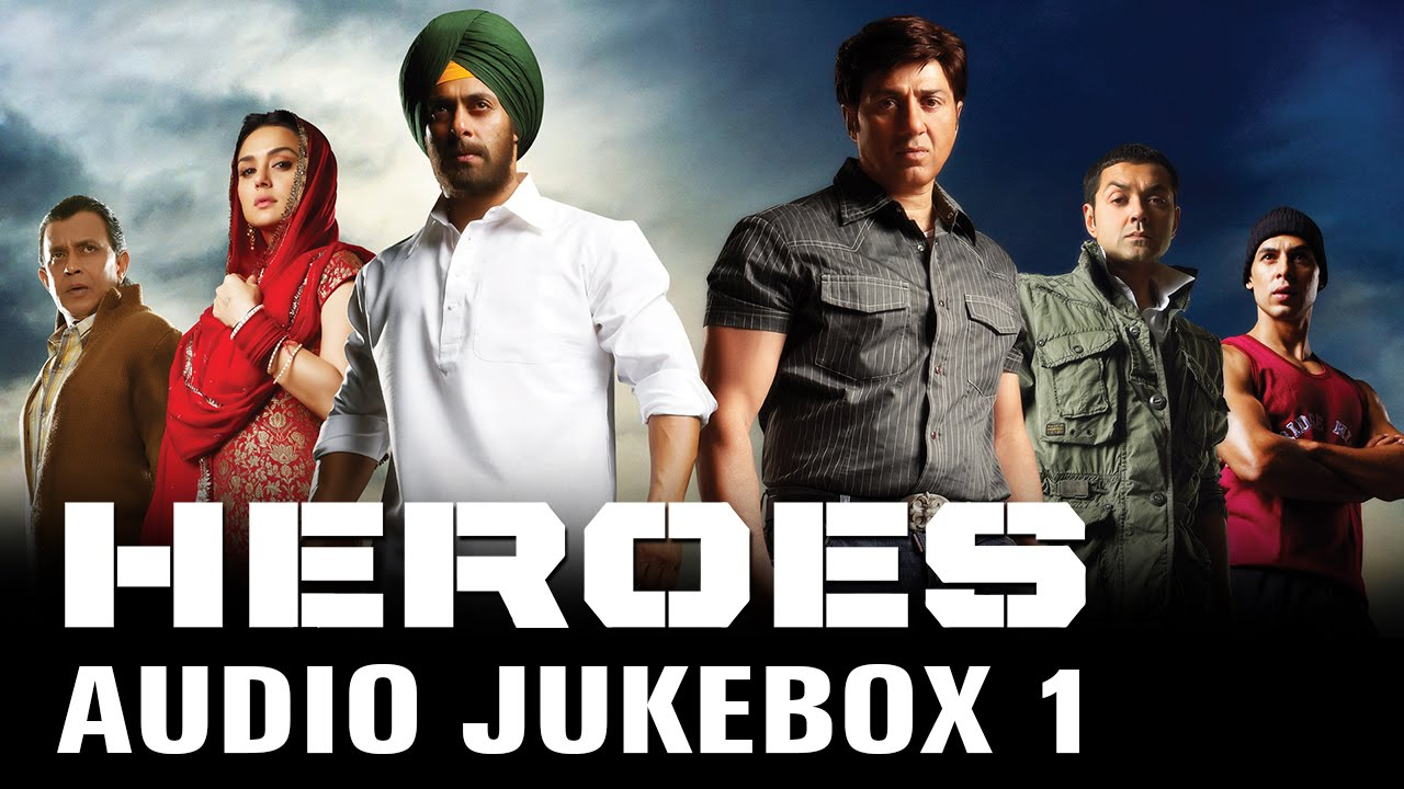 Heroes Full Songs Audio Jukebox 1 Sajid Wajid Monty Sharma