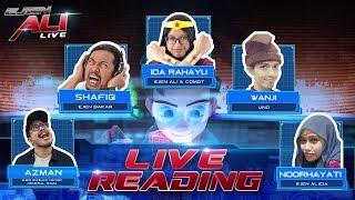 Ejen Ali – Live Reading @ The Big Bad Wolf Bookfair