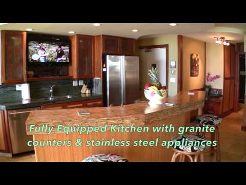 Luxurious Kauai Direct Oceanfront Vacation Rental at Kuhio Shores in Poipu