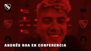ANDRÉS ROA   Conferencia de Prensa