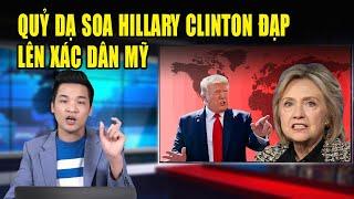 Hillary Clinton ăn mừng khi c a   n h i{ễ}m Mỹ vượt Trung Cộng đứng đầu thế giới